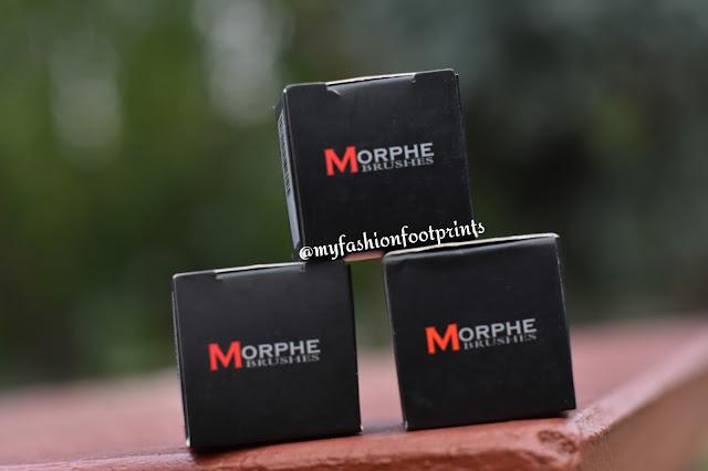Morphe Cream eyeshadows and Gel Eyeliner in Slick, Blew And Dusk - Review, Swatches & FOTD