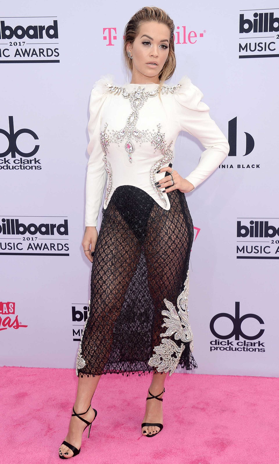 Rita Ora at 2017 Billboard Music Awards in Las Vegas