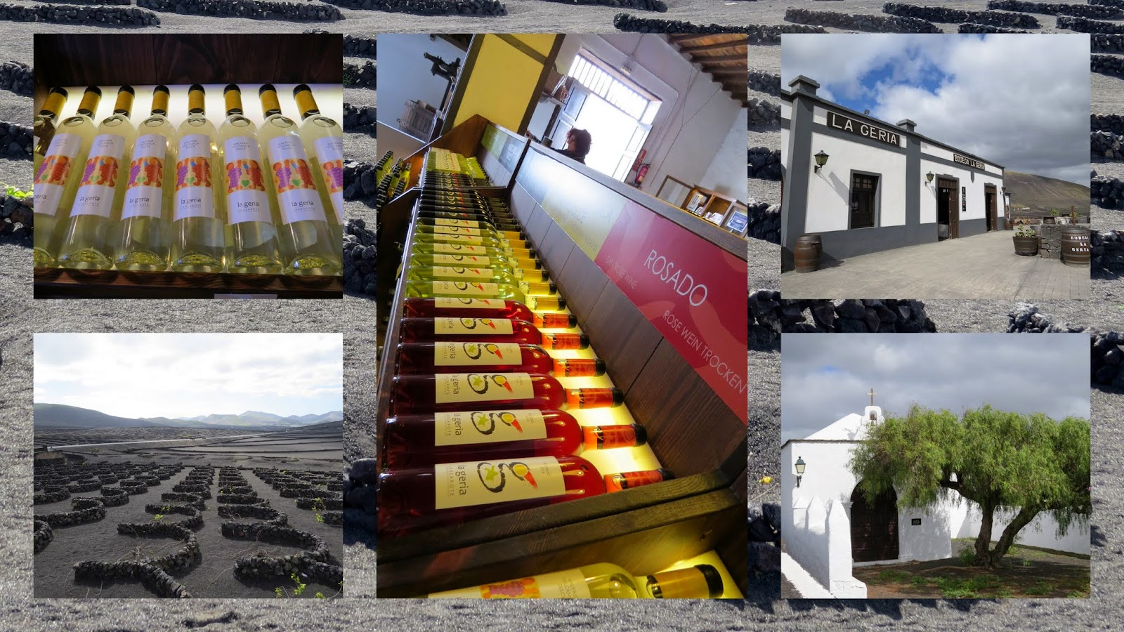 Lanzarote Wine: La Geria Winery