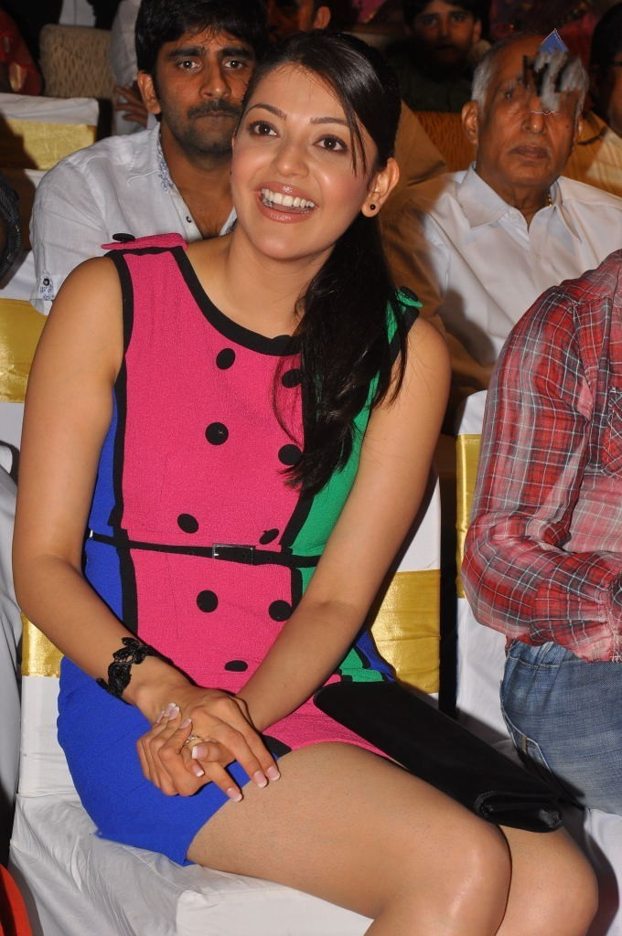 kajal agarwal at Endukatne Premanta Audio Launch