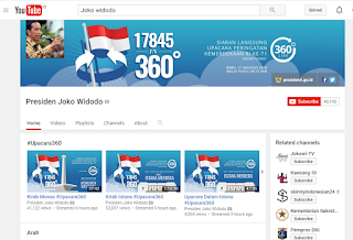 Ayo, Nonton Upacara Bendera 17 Agustus Di Youtube Dengan 360 Derajat