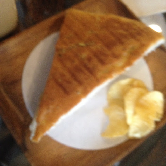 Grilled sandwich at Barako Haus