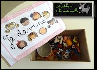 """JEU """"Je devine"""" - Montessori (LaCatalane)"""