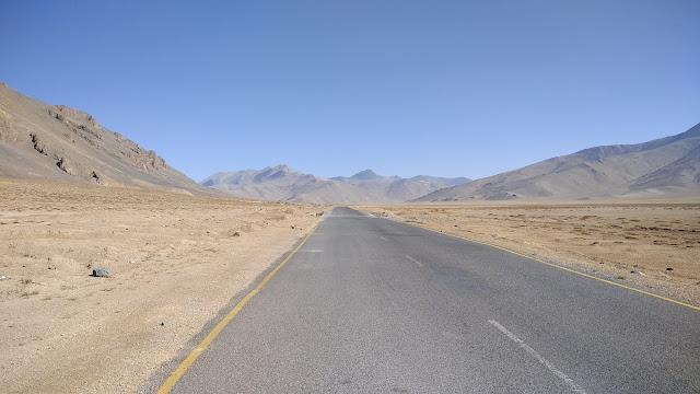 Leh Ladakh Bike Trip, Moore Plains