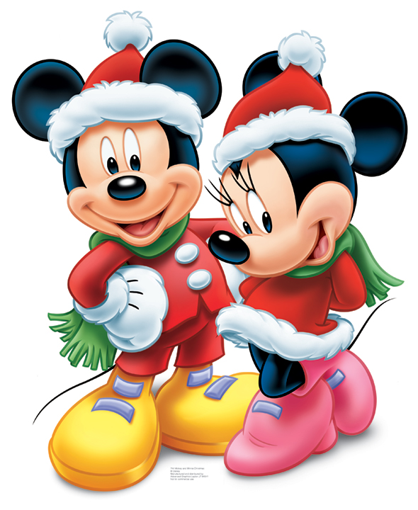 mickey mouse and minnie mouse christmas. Black Bedroom Furniture Sets. Home Design Ideas