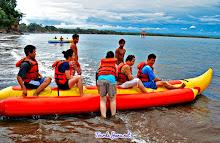 Banana Boat di Pangandaran