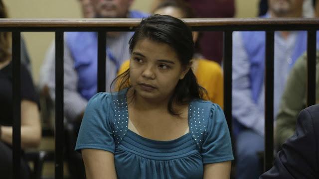 Imelda Cortez, la joven salvadoreña acusada de intento de aborto en El Salvador