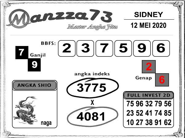 manzza73 sydney selasa