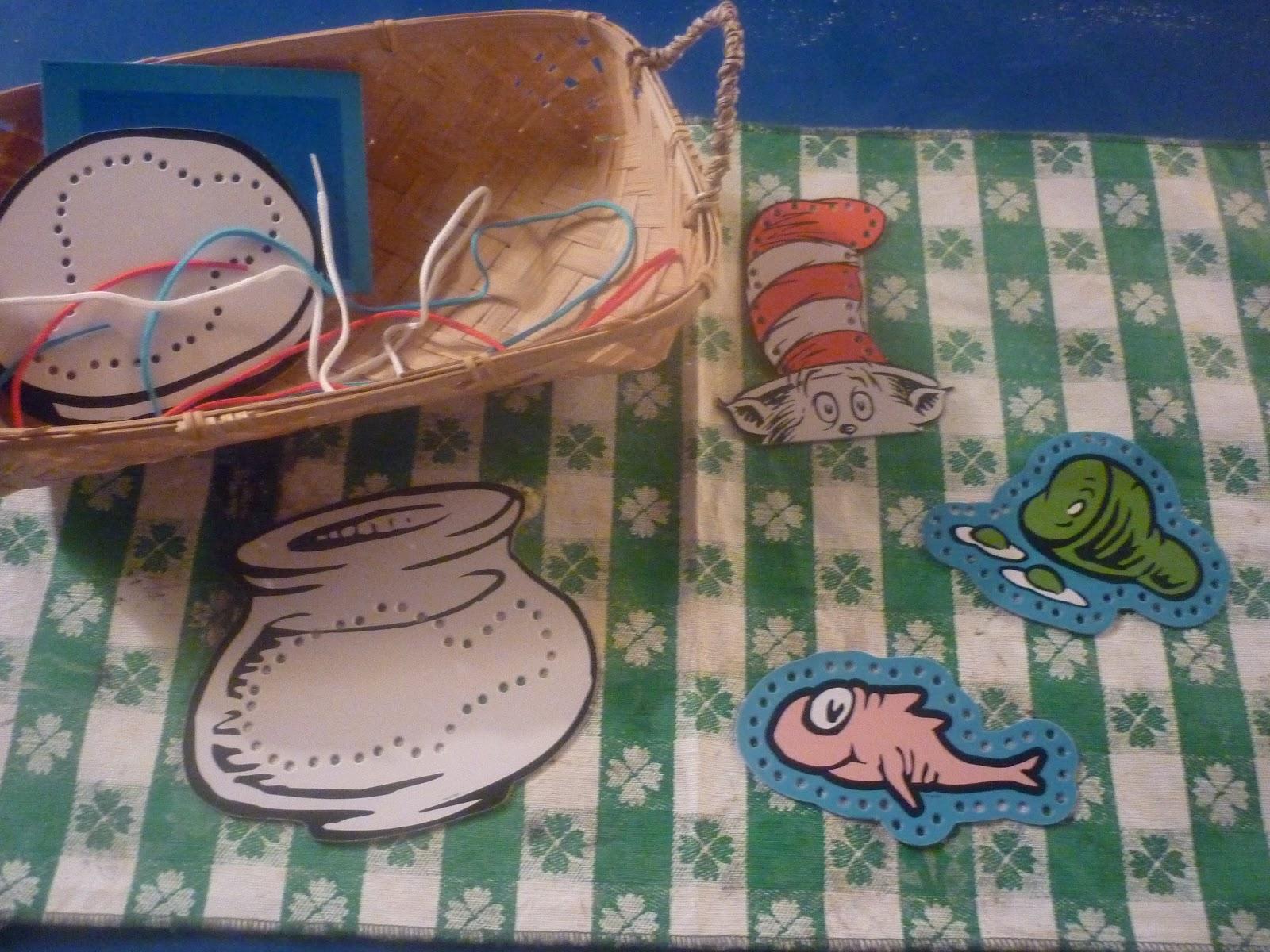 The Work Plan Celebrating Dr Seuss Week On A Budget Montessori Monday