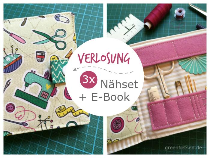 "Verlosung: 3 x Nähset + E-Book ""Nadelbuch"""