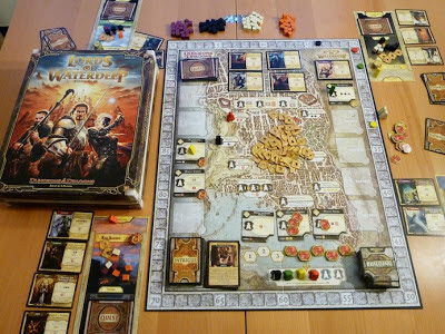 Lords of Waterdeep game in play