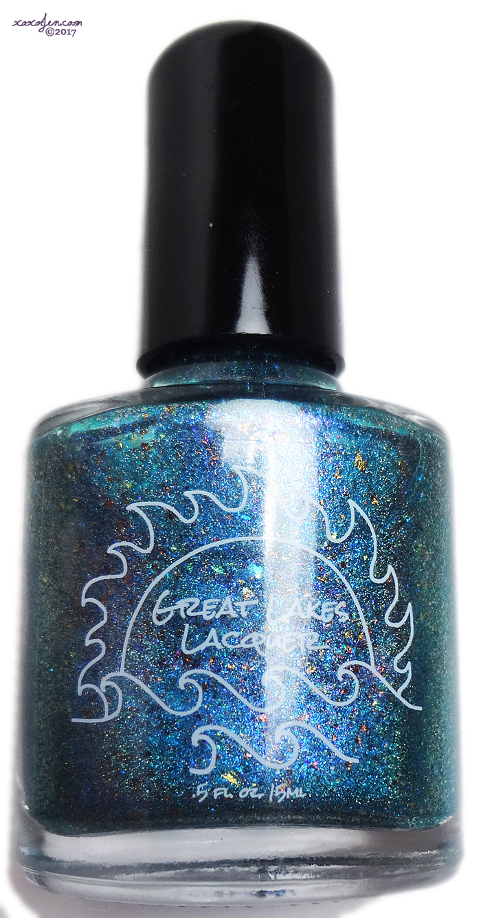 xoxoJen's swatch of Great Lakes Lacquer From Darkness Comes Light