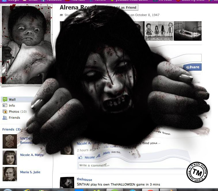 Facebook Ghost Profile - Facebook pranks