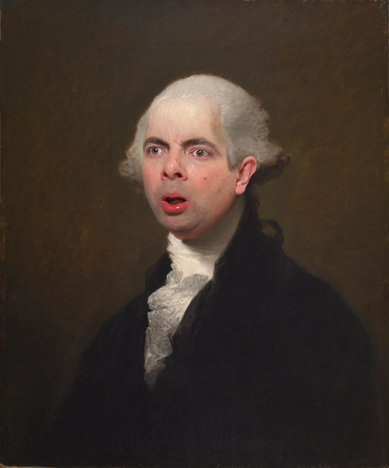 Gilbert Stuart's George Washington Bean