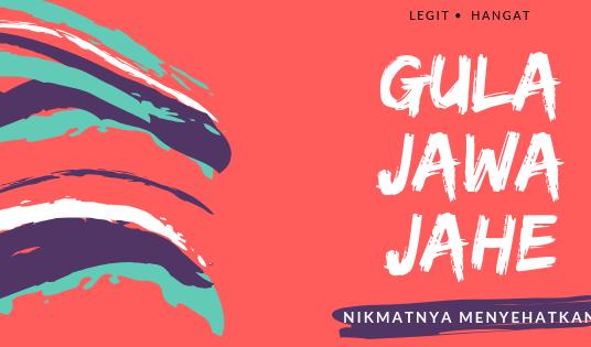 Gula Jawa Jahe