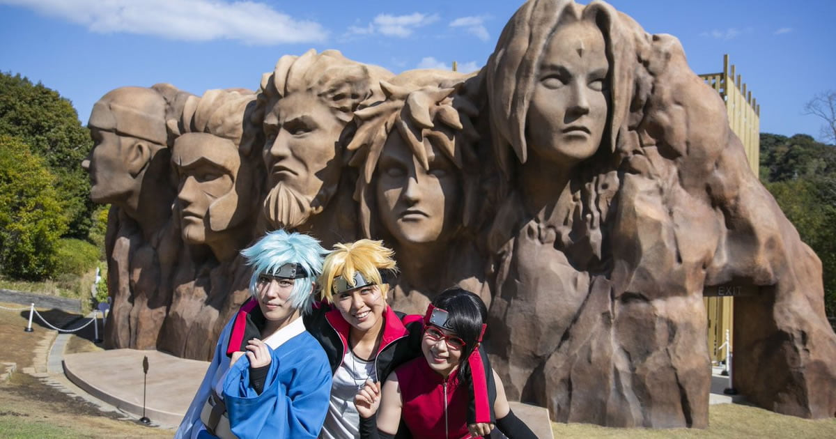 A Real-Life Hidden Leaf Village In Naruto Theme Park Is Now A Thing