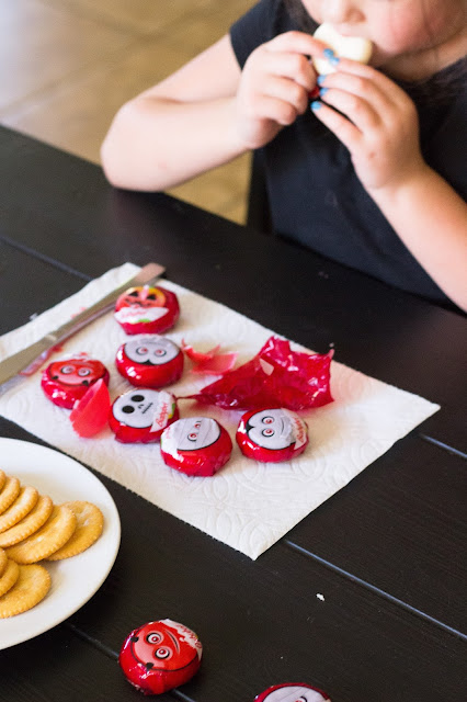 healthy fun snacks with mini babybel available at Target