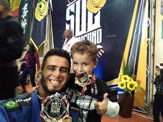 Registrense Jefferson se consagra Campeão do campeonato Sul Americano de Jiu-Jitsu