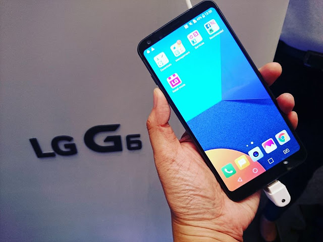 LG G6: My Perfect Fit Social Media Phone
