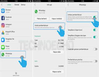 cara mengatasi pesan wa tidak masuk kalau tidak dibuka Solusi Pesan Whatsapp Tidak Masuk Jika Layar Hp Android Terkunci