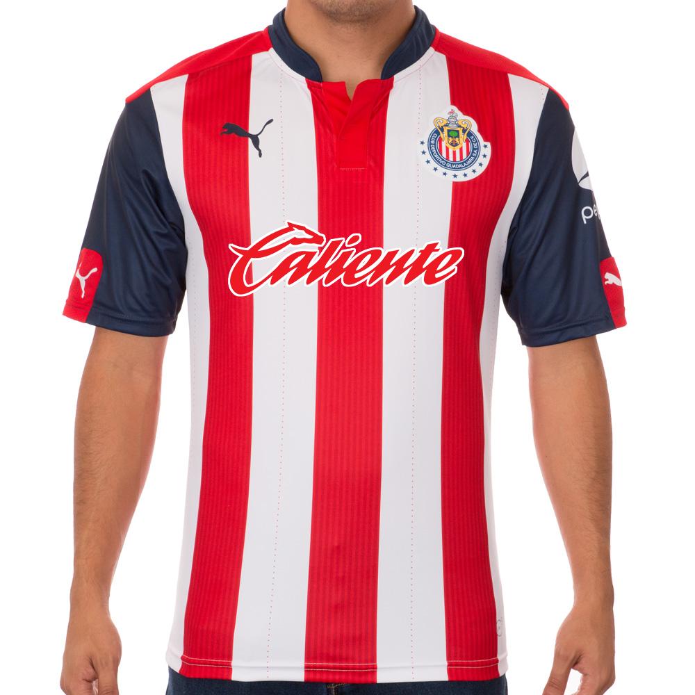 Hasta el momento, el Guadalajara es el único equipo sin marca en la parte frontal de la playera.