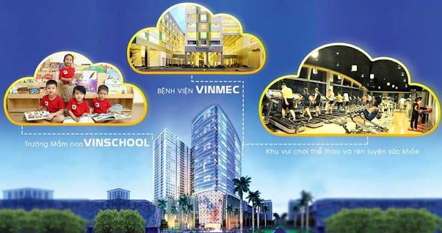 Vingroup chú trọng đầu tư tiệ ích ở mọi dự án kể cả VinCity