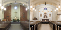 Before and After: Blessed Sacrament Church in Newark, Ohio