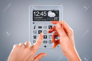 How Transparent Mobile phone works