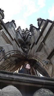 A Wallace emlékmű tetején