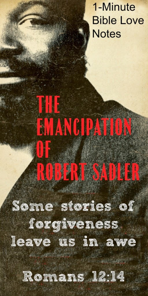 The Emancipation of Robert Sadler, Slavery and forgiveness