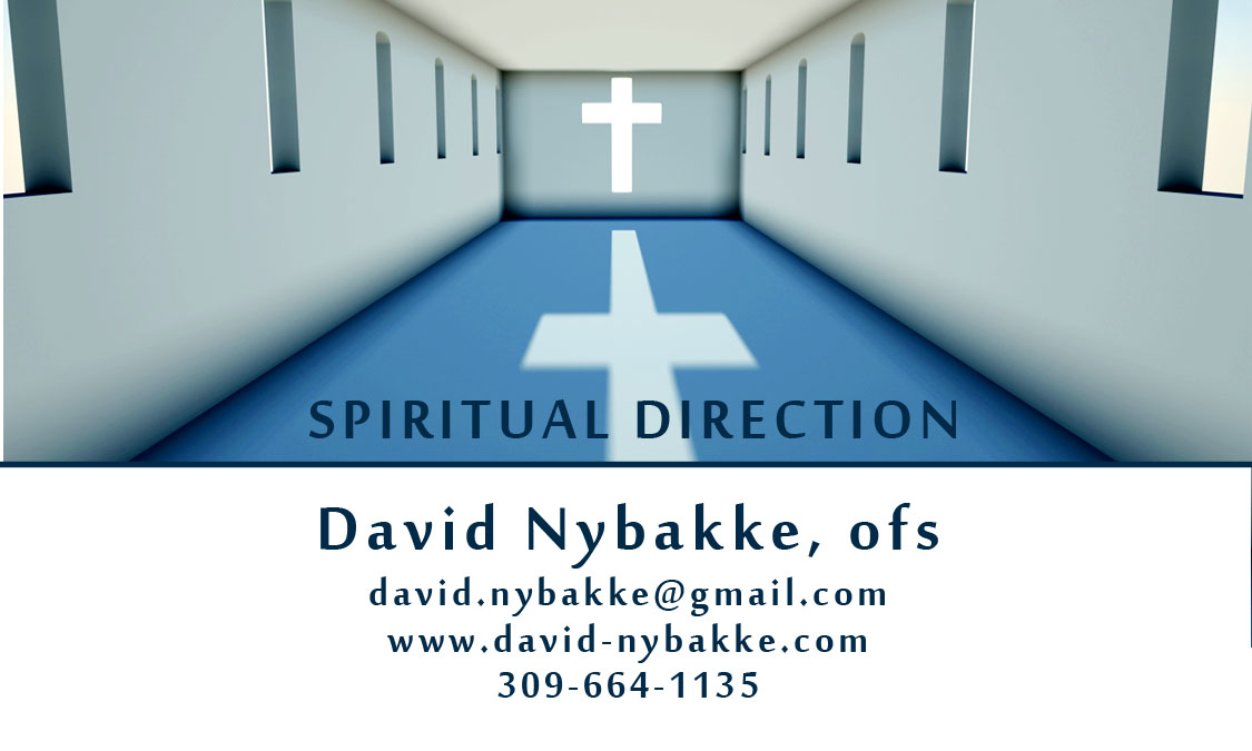 David Nybakke Ofs Spiritual Direction First Session Rate