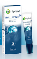 Cumpara de aici crema antirid anticearcane ochi Hyaluronic Elmiplant