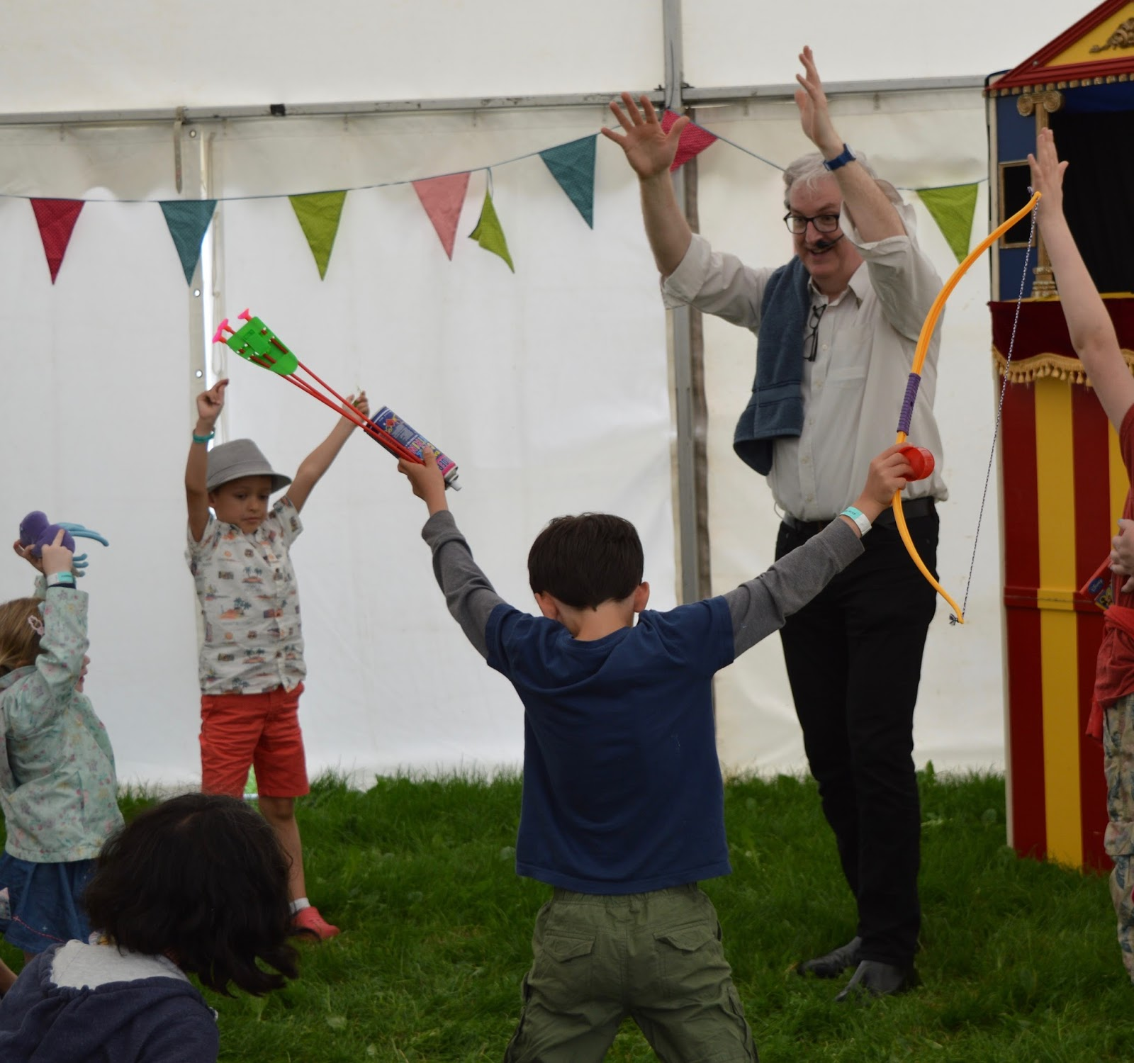 Corbridge Festival 2016 - A Review - Kids tent