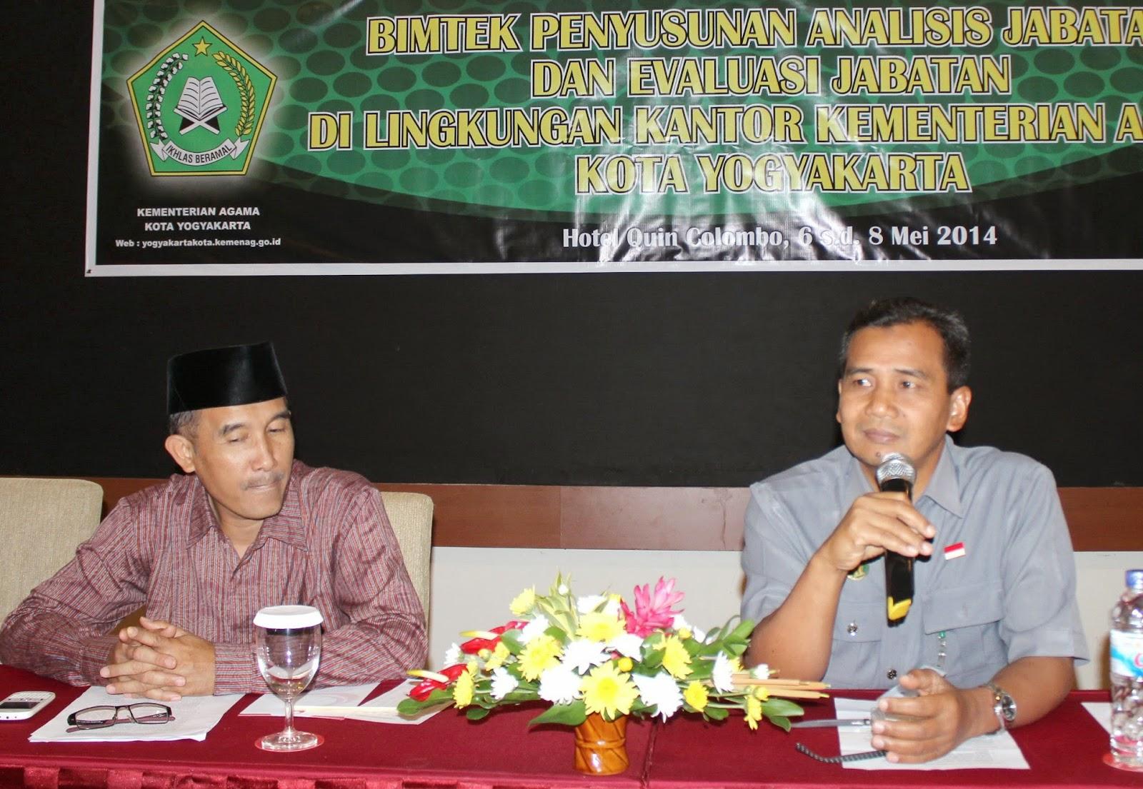 Menteri Agama Wikipedia: Penyuluh Agama Islam Jogja: Bimtek Penyusunan Analisis