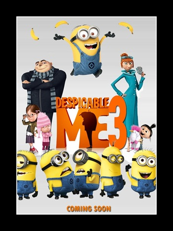 Despicable Me 3 2017 Hindi Dual Audio 480p HDTS 300mb