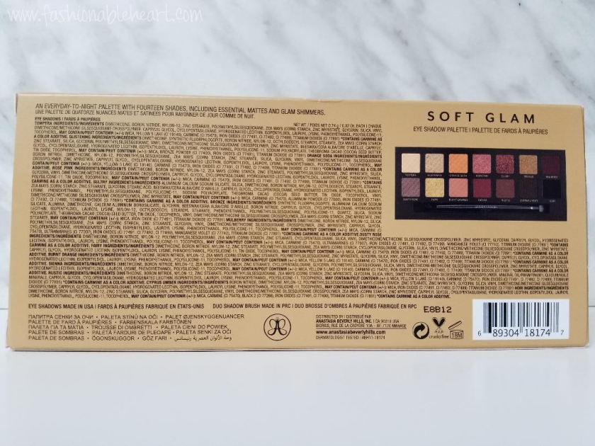 bblogger, bbloggerca, canadian beauty blogger, beauty blog, lifestyle bloggers, sephora canada, anastasia beverly hills, abh, soft glam, palette, eyeshadow, eyeshadows, neutrals, matte, shimmer, metallic, swatches, review, product review, fair skin, hand swatches, blending, pigmented