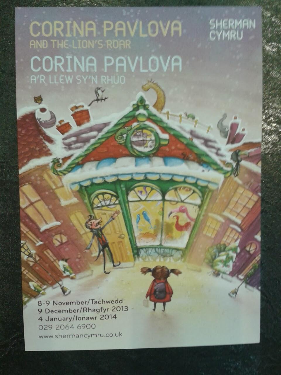 Review:  Corina Pavlova at The Sherman Theatre, Cardiff