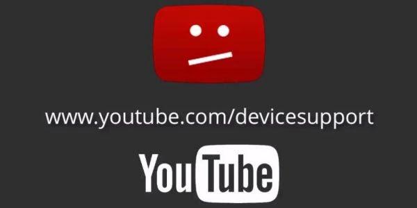 إذا صادفت هذه الرسالة اثناء تجوالك في اليوتوب فهذا يعني إيقاف دعم جهازك