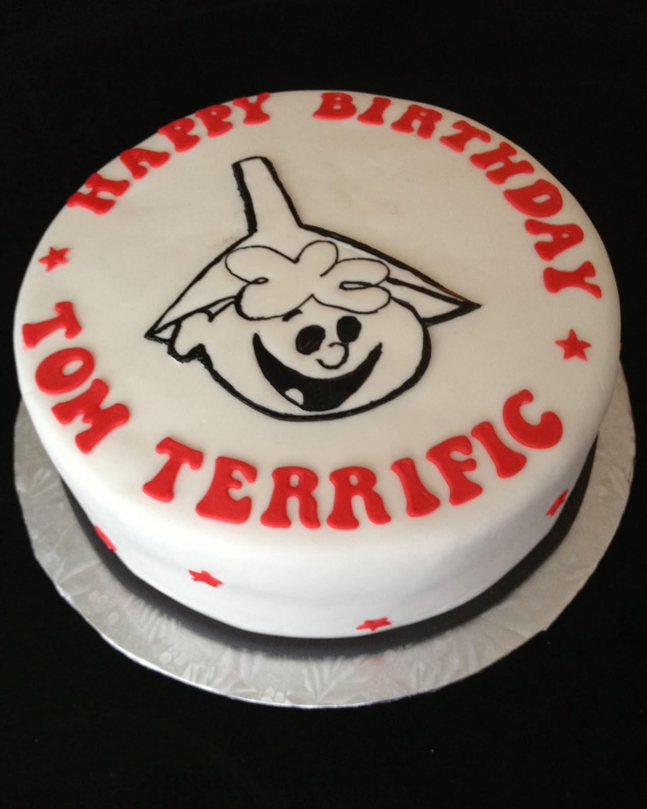 Tom Terrific Birthday Cake