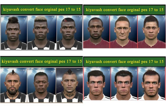 Mini Facepack Update 12-05-2018 PES 2015