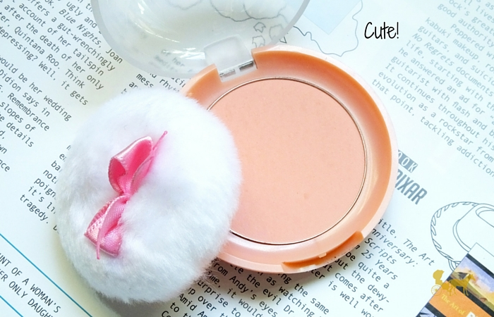 etude house lovely cookie blusher peach parfait review swatch packaging