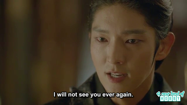 King Wang So told hae so he will never see her again - Moon Lovers Scarlet Heart Ryeo - Episode 19 (eng sub)