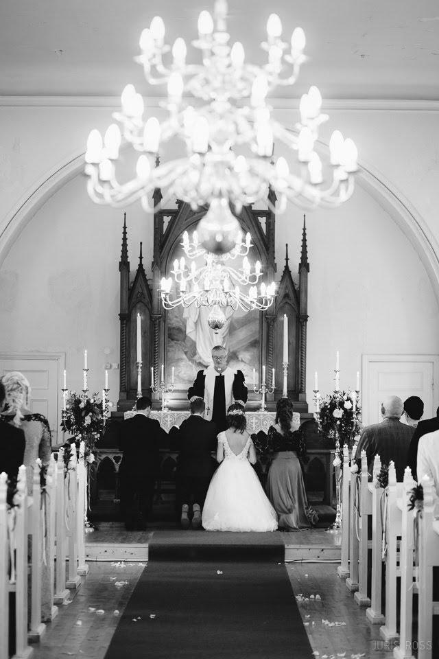 kāzu ceremonija Ķempju Evanģēliski Luteriskā baznīca