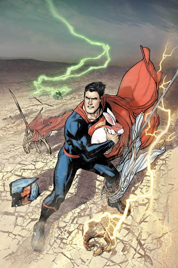 superman rebirth dc comics