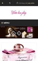Template blogspot bán hàng nước hoa, giao diện blogspot bán hàng