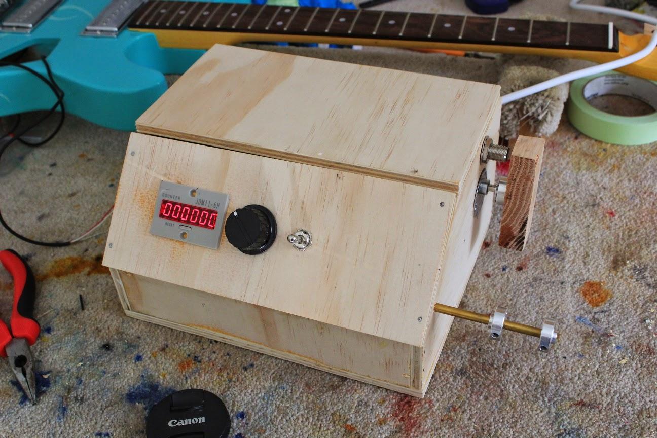 guitar kit builder pickup winder wire guide. Black Bedroom Furniture Sets. Home Design Ideas