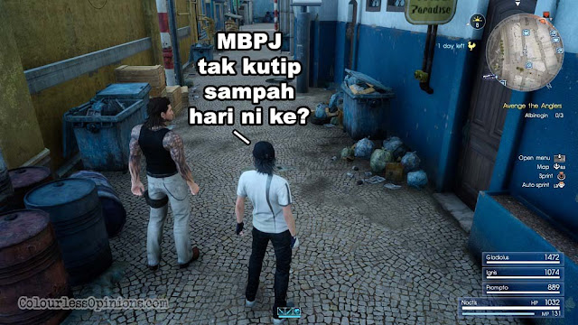 FINAL FANTASY XV malaysia meme