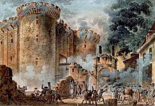 حصن وسجن فرنسي مشهور رمز للطغيان منه انطلقت الشرارة الاولي للثورة الفرنسية
