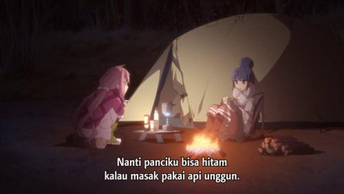 Yuru Camp Episode 01 Subtitle Indonesia