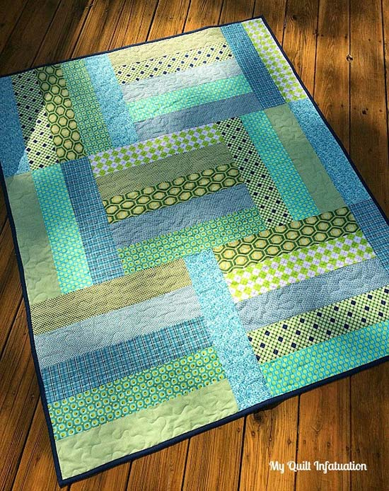 Strip Tango Quilt from My Quilt Infatuation